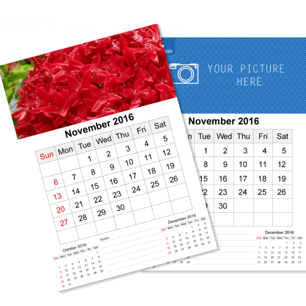 12x12 Calendar