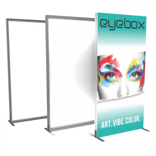Light Box Banner Stand