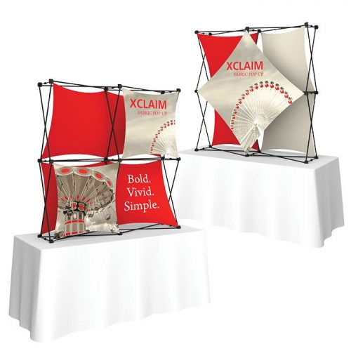 Xclaim Fabric Popup Display