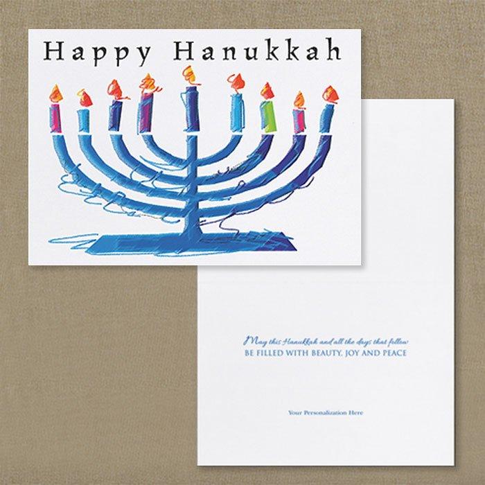 Menorah-Sketch-Holiday-Card