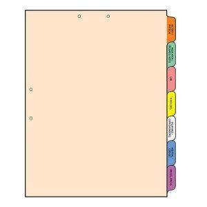 Multi-Tab Folders