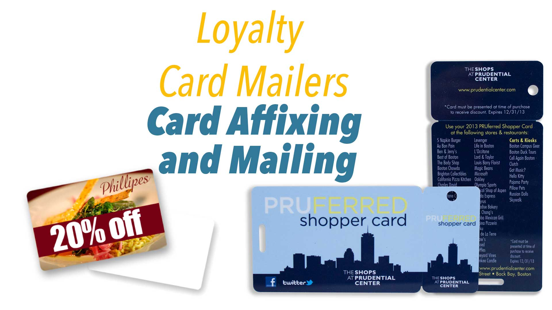 Loyalty Card Mailers