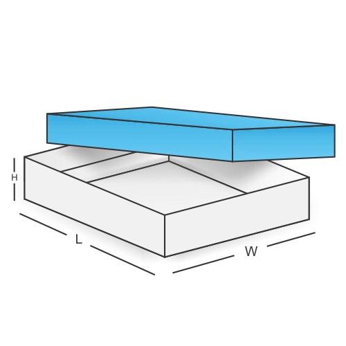 Fold and Assemble Box 2 Piece Box