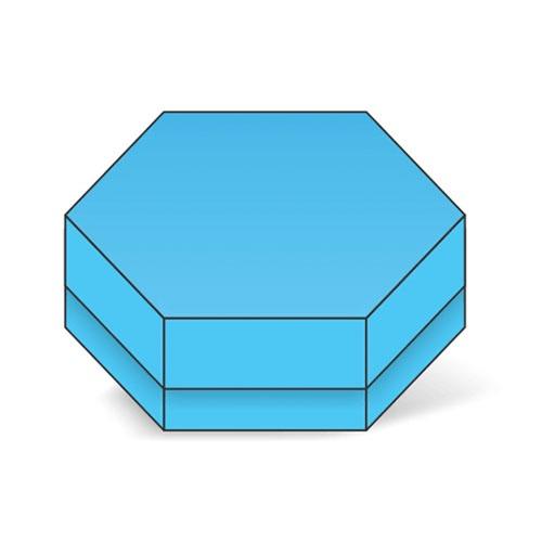 Hexagon 2 Piece Box