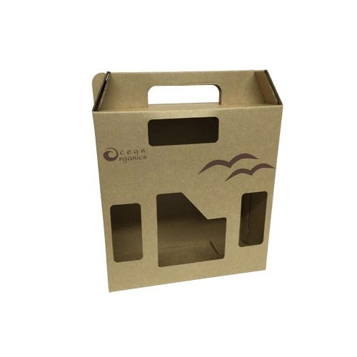 Retail Box Packaging, Window Box, in New York