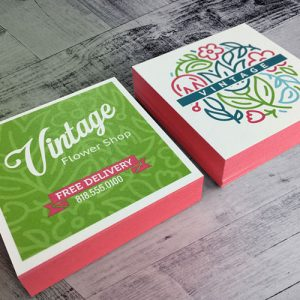 Painted Edge Business Cards in Massachusetts, New York & Washington D.C.
