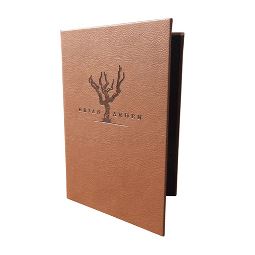 faux Leather Menus
