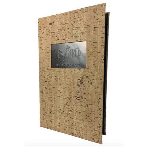 cork menus