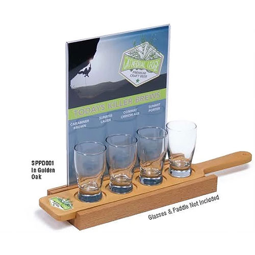 beer flight paddles