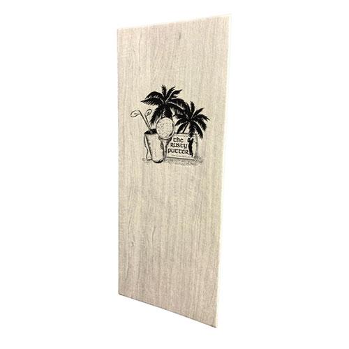 wood menus
