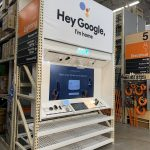 Sign company serving Cambridge, Home Depot Google Home display