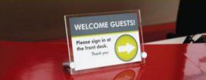 Desk Sign printing
