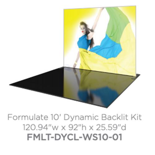 trade show backlit kit