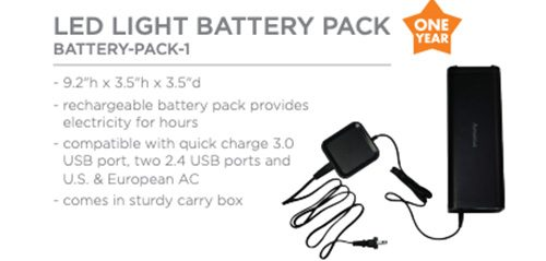 LED Light Battery Pack