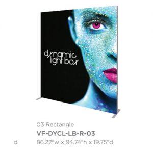 Vector Frame Dynamic Light Box 03 Rectangle