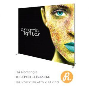 Vector Frame Dynamic Light Box 04 Rectangle