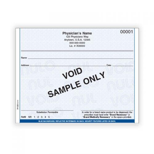 Prescription Pad Printing in California, Florida, New Jersey and More